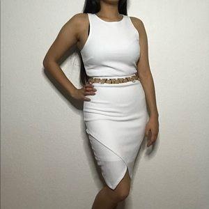 Tight White Bodycon Dress